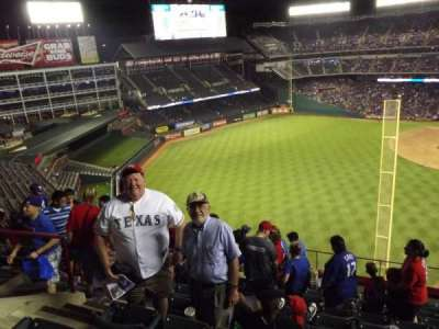 Globe Life Park in Arlington section 308