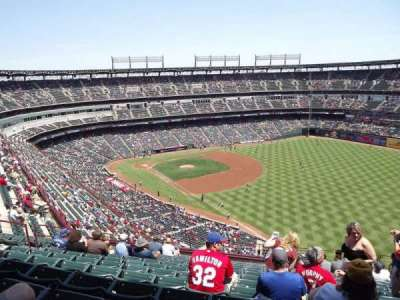 Globe Life Park in Arlington section 341