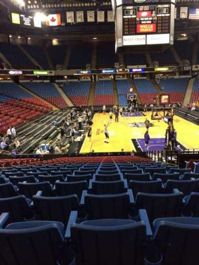 Sleep Train Arena, section: 109, row: U, seat: 4