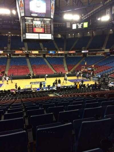 Sleep Train Arena, section: 115, row: U, seat: 8