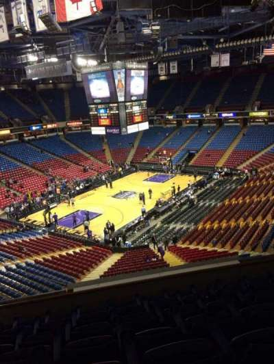 Sleep Train Arena, section: 217, row: 12, seat: 11