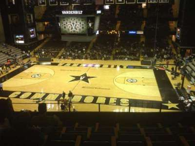 Memorial Gymnasium (Vanderbilt), section: 3B, row: 6, seat: 4