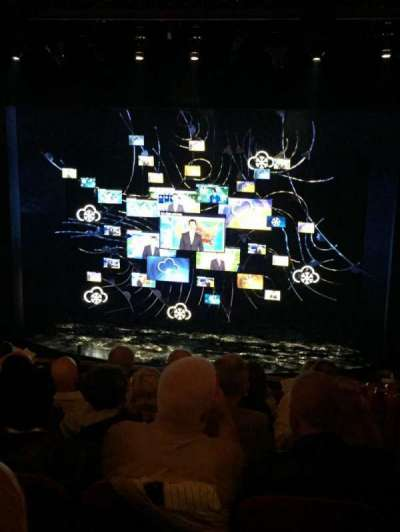 August Wilson Theatre, section: Mezz, row: G, seat: 114