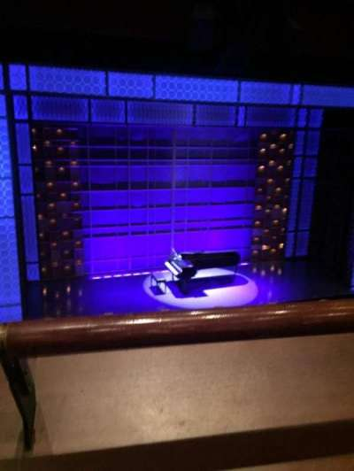 Stephen Sondheim Theatre, section: Mezz, row: A, seat: 115