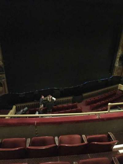Palace Theatre (Broadway), section: Mezz, row: C, seat: 7