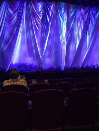 Ziff Ballet Opera House at the Arsht Center, section: Orch, row: B, seat: 101