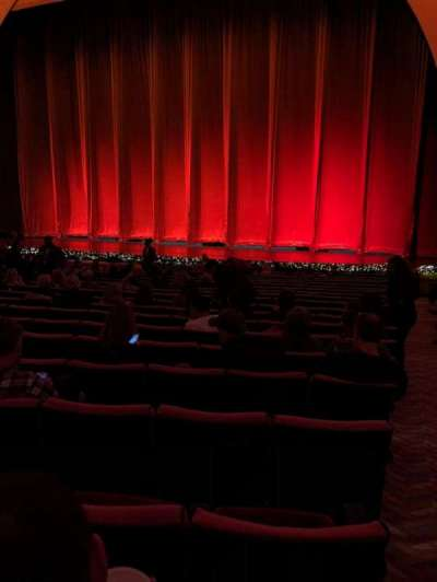Radio City Music Hall, section: Orchestra 3, row: UU, seat: 301
