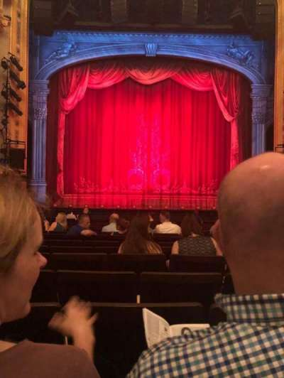 Hudson Theatre, section: Orch, row: O, seat: 108