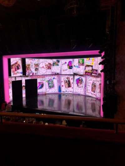 August Wilson Theatre section Mezz
