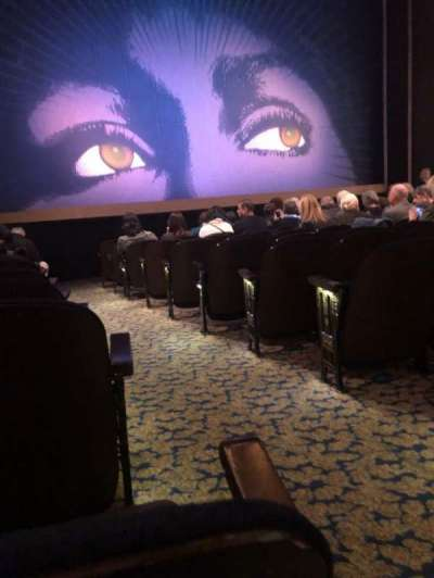 Lunt-Fontanne Theatre, section: Orchestra L, row: M, seat: 1