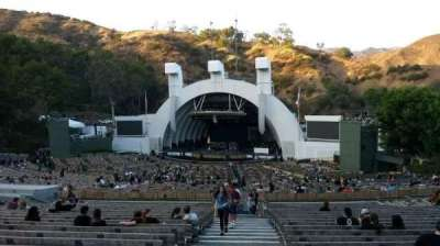 Hollywood Bowl, section: F1, row: 22, seat: 43