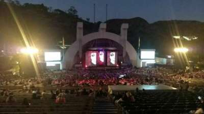 Hollywood Bowl, section: J1, row: 22, seat: 1