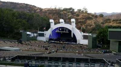 Hollywood Bowl, section: L1, row: 7, seat: 1