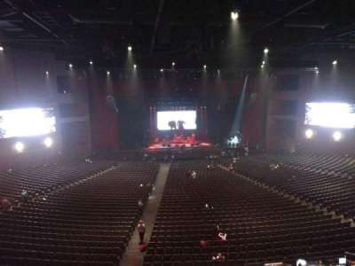 Microsoft Theater, section: Lower Mezz center left, row: B, seat: 406