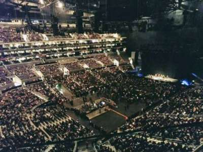 Staples Center, section: 305, row: 2, seat: 3