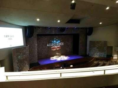 Aratani Theatre, section: Balcony, row: CC, seat: 43