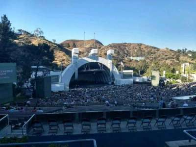 Hollywood Bowl, section: P2, row: 4, seat: 101