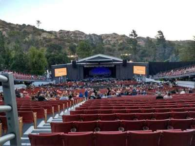 The Greek Theatre section Bench Right