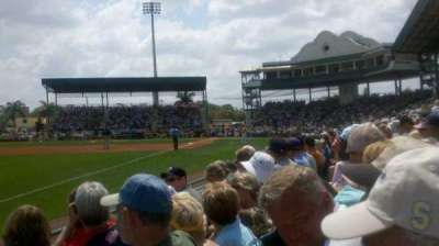 McKechnie Field, section: Box 19, row: 3, seat: 16