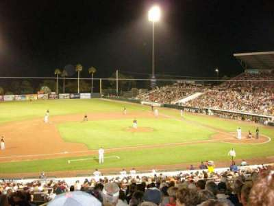 Hammond Stadium, section: 215, row: 14, seat: 18