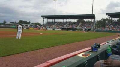 Lake Olmstead Stadium, section: K, row: 1, seat: 17