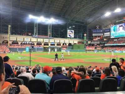 Minute Maid Park, section: 120, row: 13, seat: 6