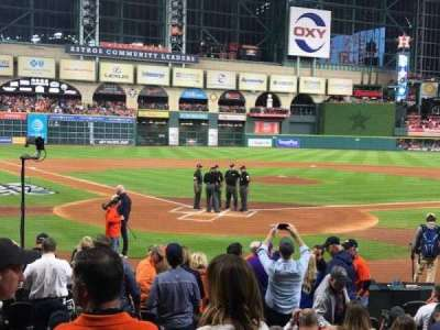 Minute Maid Park, section: 120, row: 13, seat: 7