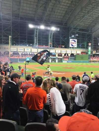 Minute Maid Park, section: 120, row: 13, seat: 5