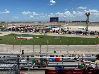 Texas Motor Speedway, section: PU 117, row: 33, seat: 1