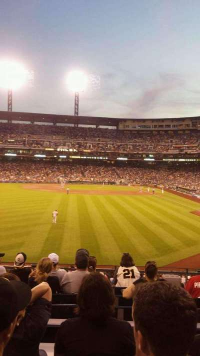 PNC Park, section: 235, row: H, seat: 17