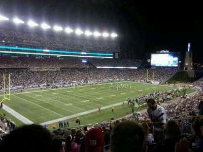 Gillette Stadium, section: 215, row: 14, seat: 12