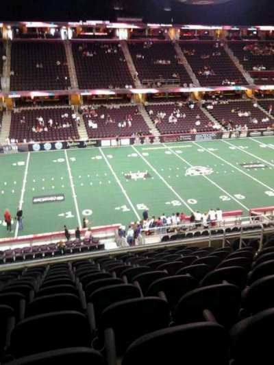 Quicken Loans Arena, section: C124, row: 26, seat: 10