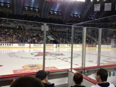 Boardwalk Hall, section: 105, row: DD, seat: 9