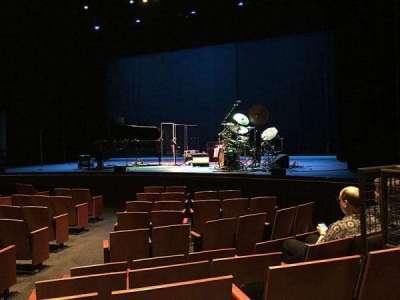 Zellerbach Theatre, section: Premium Orchestra, row: E, seat: 4