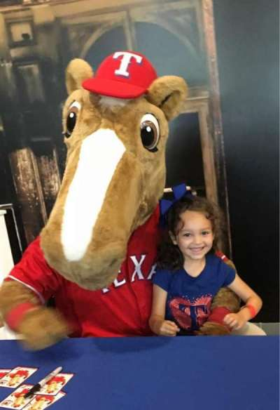 Globe Life Park in Arlington section Kid Zone