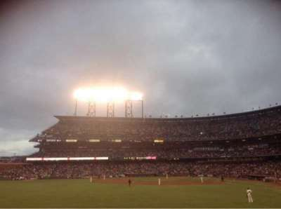 AT&T Park section 138