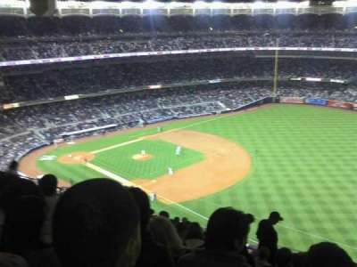 Yankee Stadium, section: 411, row: 13, seat: 5