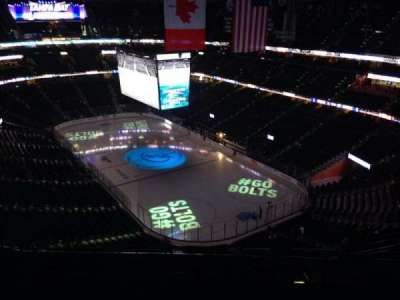 Amalie Arena, section: 311, row: N, seat: 8