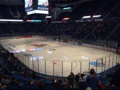 XL Center, section: 124, row: U, seat: 2