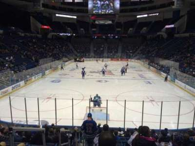 XL Center, section: 109, row: S, seat: 11