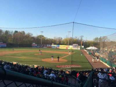 New Britain Stadium, section: 210, row: C, seat: 1