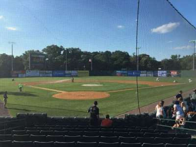 New Britain Stadium, section: 106, row: B, seat: 3