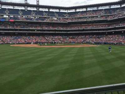 Citizens Bank Park, section: 145, row: 1, seat: 1