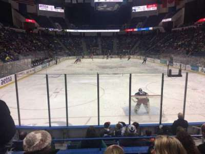 XL Center, section: 122, row: K, seat: 5
