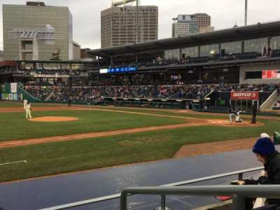 Dunkin' Donuts Park, section: 116, row: H, seat: 1