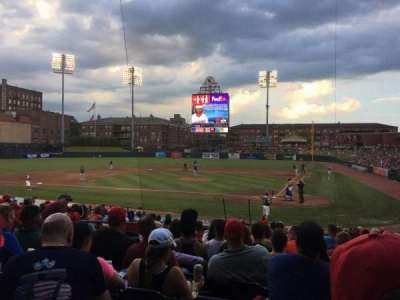 AutoZone Park, section: 104, row: Q, seat: 12