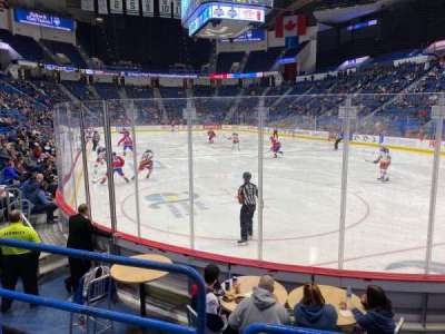 XL Center, section: 123, row: H, seat: 11