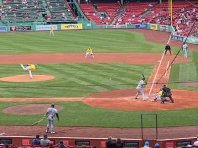 Fenway Park, section: Field Box 24, row: 10, seat: 6