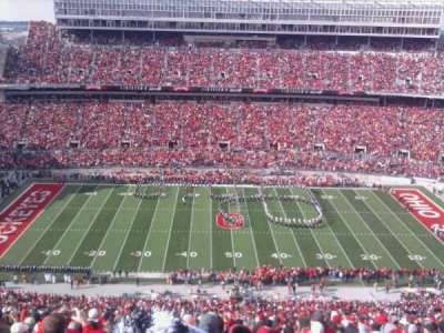 Ohio Stadium section 22C