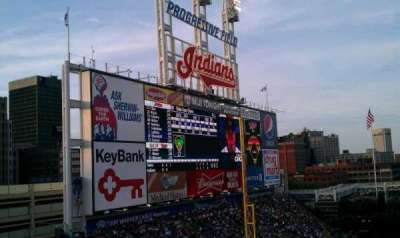 Progressive Field section 476